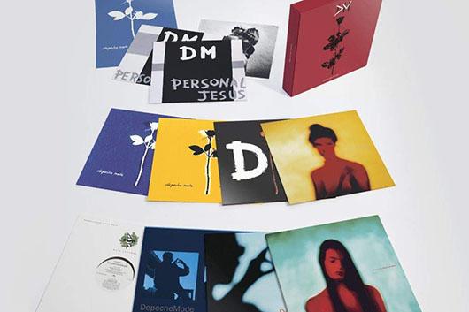 """デペッシュ・モードの限定版ボックスセット『Violator : The 12"""" Singles』、4月発売"""