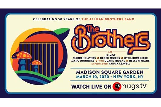 オールマン・ブラザーズ・バンド50周年記念コンサート、セットリストとライヴ映像公開
