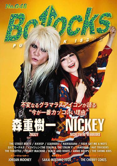 """不変なるグラマラスアイコンが語る """"今が一番カッコいい理由"""" 森重樹一(ZIGGY)× NICKEY(NICKEY & THE WARRIORS)〜Bollocks No.048"""