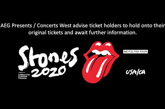 ローリング・ストーンズ、北米ツアーを延期