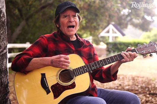 ミュージシャンの自宅演奏を配信する「In My Room」シリーズ、ジョン・フォガティの映像公開