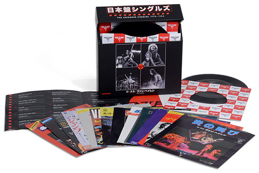 発売延期になっていたヴァン・ヘイレン『日本盤シングルズ 1978-1984』、特典内容とともについに発売日決定!