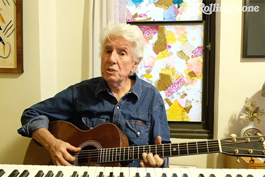 ミュージシャンの自宅演奏を配信する「In My Room」シリーズ、グラハム・ナッシュの映像公開