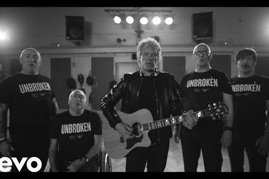 ボン・ジョヴィの「Unbroken」、ニュー・ヴァージョンのミュージック・ビデオ公開
