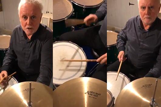 クイーンのロジャー・テイラー、ドラム・レッスンの映像公開