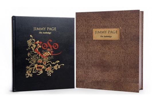 輸入豪華写真集『ジミー・ペイジ・アンソロジー』デラックス・エディション