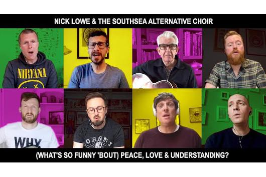 ニック・ロウ、「Peace, Love and Understanding」のニュー・ヴァージョン公開