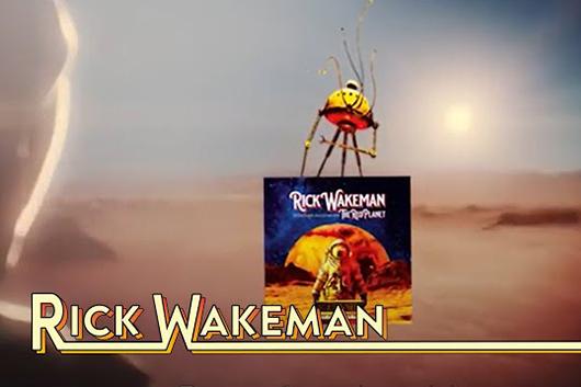 リック・ウェイクマン、最新アルバムの新たなビデオ・トレーラー公開