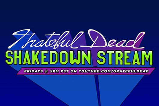 グレイトフル・デッド、ウィークリー・コンサート・シリーズ「Shakedown Stream」スタート