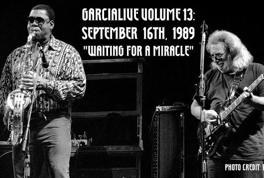ジェリー・ガルシア・バンド1989年の「Waiting for a Miracle」、オーディオ・ビデオ公開