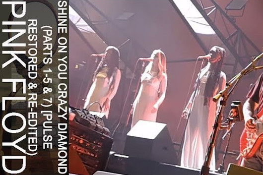 ピンク・フロイド、YouTubeで配信するコンサート・シリーズを発表