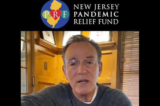 ブルース・スプリングスティーン等が出演の新型コロナ救済慈善チャリティ番組『Jersey 4 Jersey』明日4/22放映