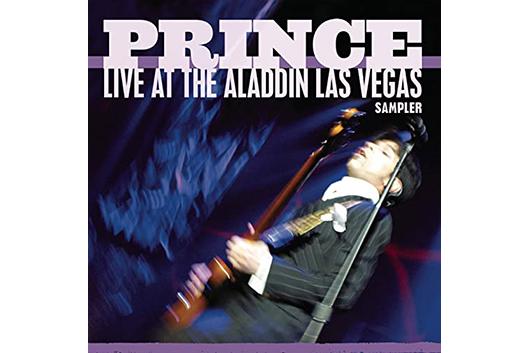 プリンス2002年の『Live at the Aladdin Las Vegas』から4曲入りのサンプラー配信中