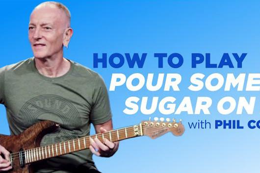 デフ・レパードのフィル・コリン、「Pour Some Sugar On Me」のギター・レッスン公開