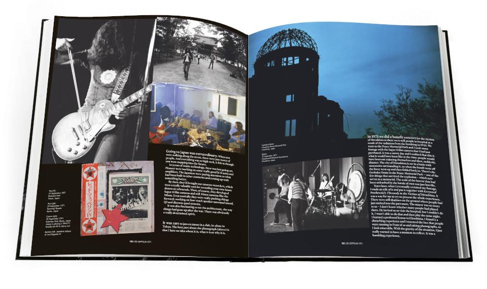 ジミー・ペイジ自らが執筆・監修した直筆サイン入り豪華写真集『ジミー・ペイジ・アンソロジー』。1971年、初来日時の様子が掲載されていることが判明!