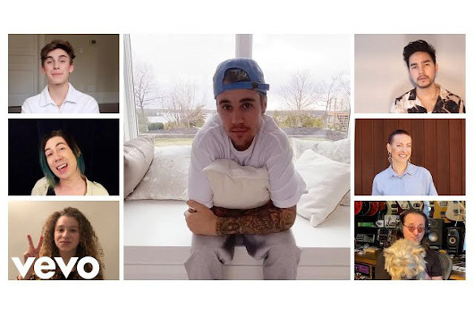 カナダ出身の大物アーティストが参加した「Lean on Me」、首相も登場するミュージック・ビデオ公開