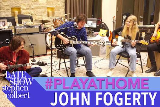ジョン・フォガティのファミリー・バンド、新たなパフォーマンス映像公開