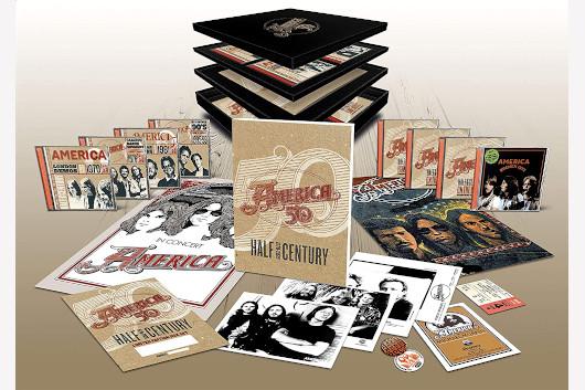 フォーク・ロック・グループのアメリカ、ボックスセット『Half Century』6月発売