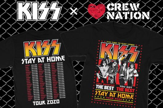 コンサートを裏で支えるクルーの救済・支援のための救済基金にKISSも賛同、ウドーよりTシャツ販売決定