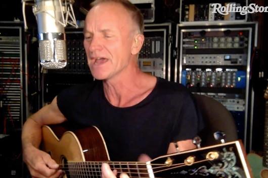 自宅演奏を配信する「In My Room」シリーズ、スティングの映像公開