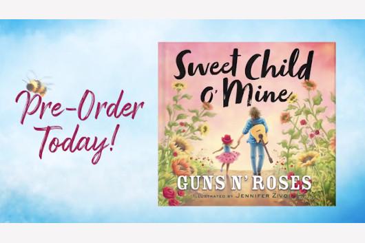 ガンズ・アンド・ローゼズ、子供向けの絵本『Sweet Child O' Mine』発売