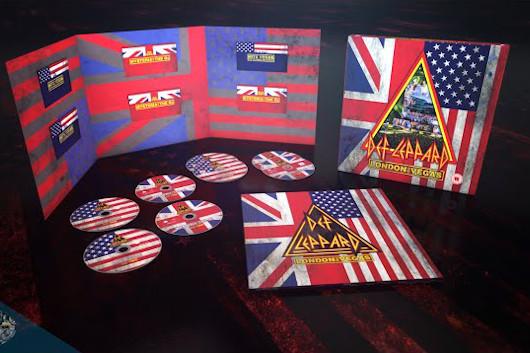 デフ・レパード、ライヴ作品『London to Vegas』のボックス開封映像公開