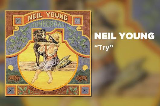 ニール・ヤング、1975年の未発表アルバム『Homegrown』から「Try」の音源公開