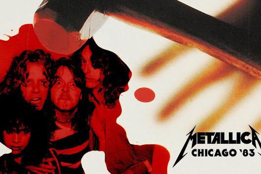 メタリカ、毎週月曜の映像配信シリーズ「#MetallicaMondays」、第9弾は1983年のシカゴ公演