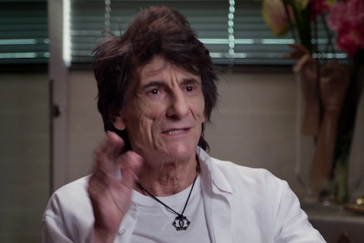 ロニー・ウッドのドキュメンタリー、新たなクリップ映像公開