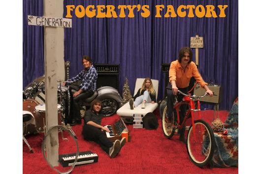 ジョン・フォガティ&ファミリー、デジタルEP「Fogerty's Factory」をリリース