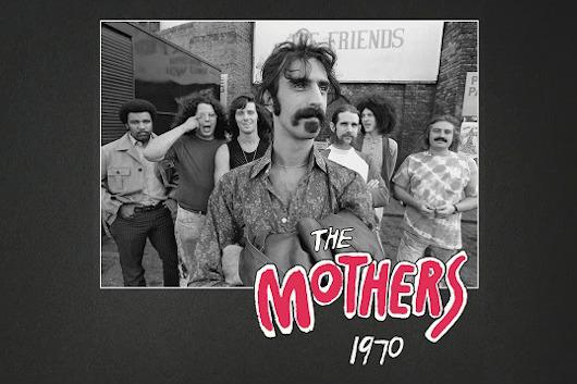 フランク・ザッパのボックスセット『The Mothers 1970』から「Sharleena」の音源公開