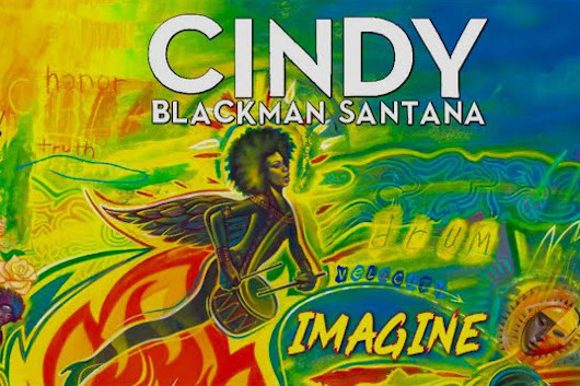 サンタナと妻のシンディ・ブラックマンがジョン・レノンの「Imagine」をカヴァー