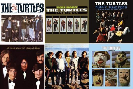 タートルズ、1965年~1970年のアルバム6タイトルが2枚組LPで発売