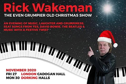 元イエスのリック・ウェイクマン、クリスマス・ツアーのトレーラー公開