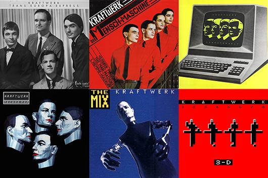 クラフトワーク『3-D The Catalogue』と5枚のオリジナル・アルバムのドイツ語版のデジタル配信が決定!