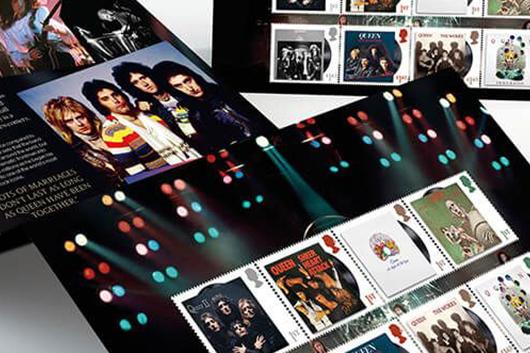 英ロイヤル・メールが発行するクイーンの記念切手、先行予約開始。ロジャーはソロ・シングルをリリース!