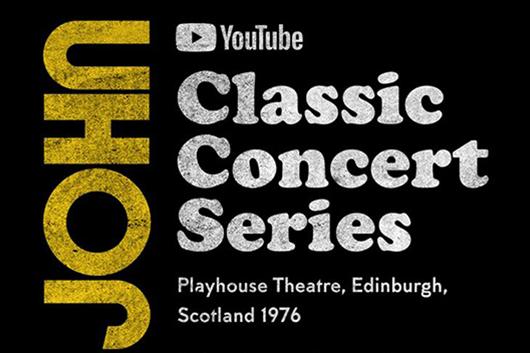 エルトン・ジョン、歴史的コンサートのアーカイヴ映像を6週にわたりYouTubeで配信