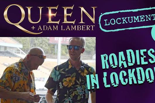 クイーン+アダム・ランバート、新たなオンライン・シリーズでツアーの舞台裏を紹介