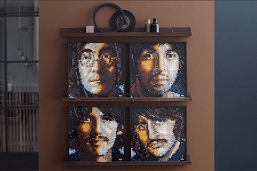 ビートルズの「レゴ・アート」セット、日本で8月1日発売