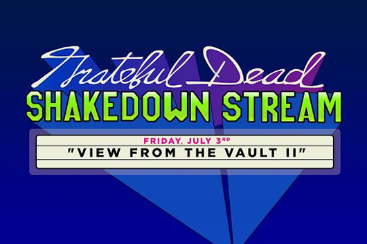 グレイトフル・デッドのコンサート・シリーズ「Shakedown Stream」、1991年ワシントンD.C.公演のフル映像公開