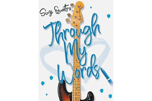 スージー・クアトロのリリック・ブック『Through My Words』、7月27日発売