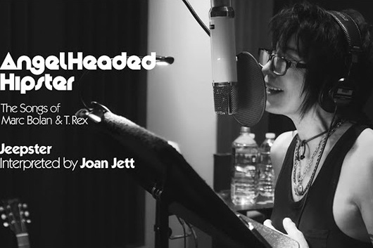 ジョーン・ジェットがカヴァーしたT・レックスの「Jeepster」、ミュージック・ビデオ公開