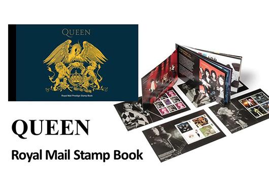 英国で発売されたクイーンの公式切手、7月21日よりシンコーミュージック・レコーズ・ショップで発売開始!