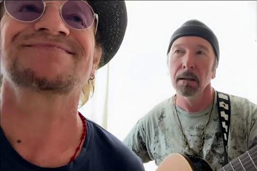 U2のボノとジ・エッジ、ツェッペリンの「天国への階段」をカヴァー
