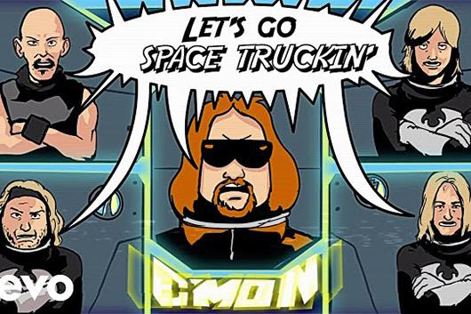 元KISSのエース・フレーリー、新カヴァー・アルバムから「Space Truckin'」のMV公開