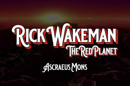 リック・ウェイクマン、最新アルバムからファースト・シングル「Ascraeus Mons」公開