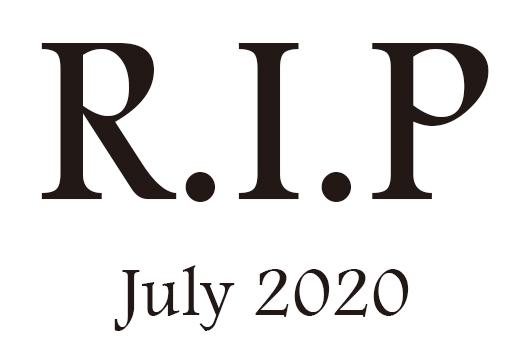 2020年7月に他界したミュージシャン及び音楽関係者