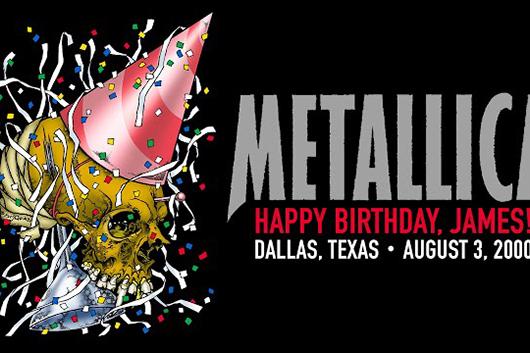メタリカの映像配信シリーズ「#MetallicaMondays」、第20弾は2000年8月のダラス公演