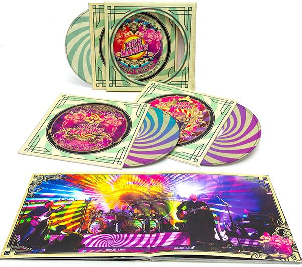 ニック・メイスンのグループ初作品『ライヴ・アット・ザ・ラウンドハウス』9/18発売、日本盤のみの封入特典も決定!