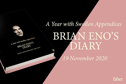 ブライアン・イーノ、1996年に出版した書籍『A Year With Swollen Appendices』を再発売